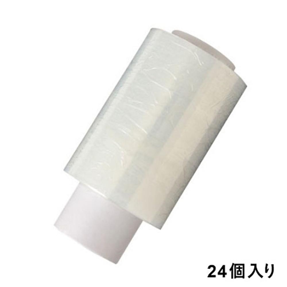【ケース販売】ミニストレッチフィルム 幅10cm×長さ150m×厚さ12ミクロン 替え 24個入[4549509329404×24]