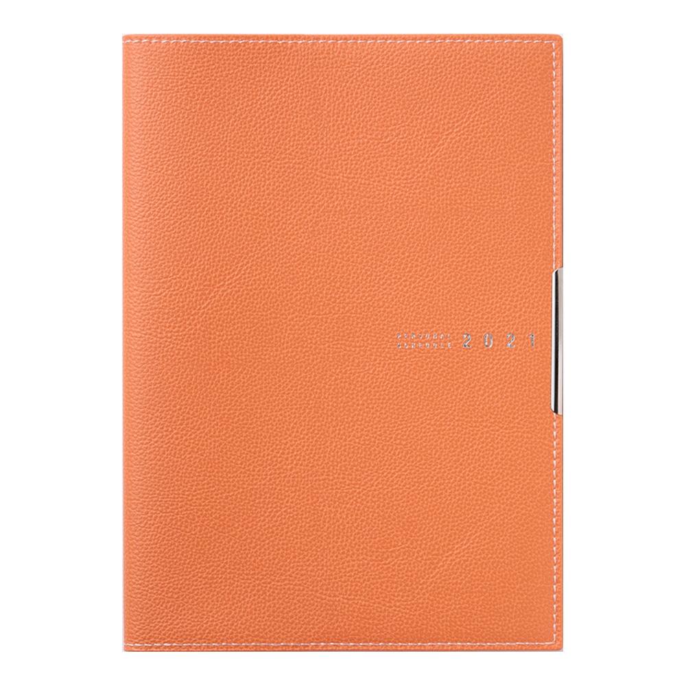 高橋書店 4月始まり手帳(623)ディアクレール3 B6 オレンジ