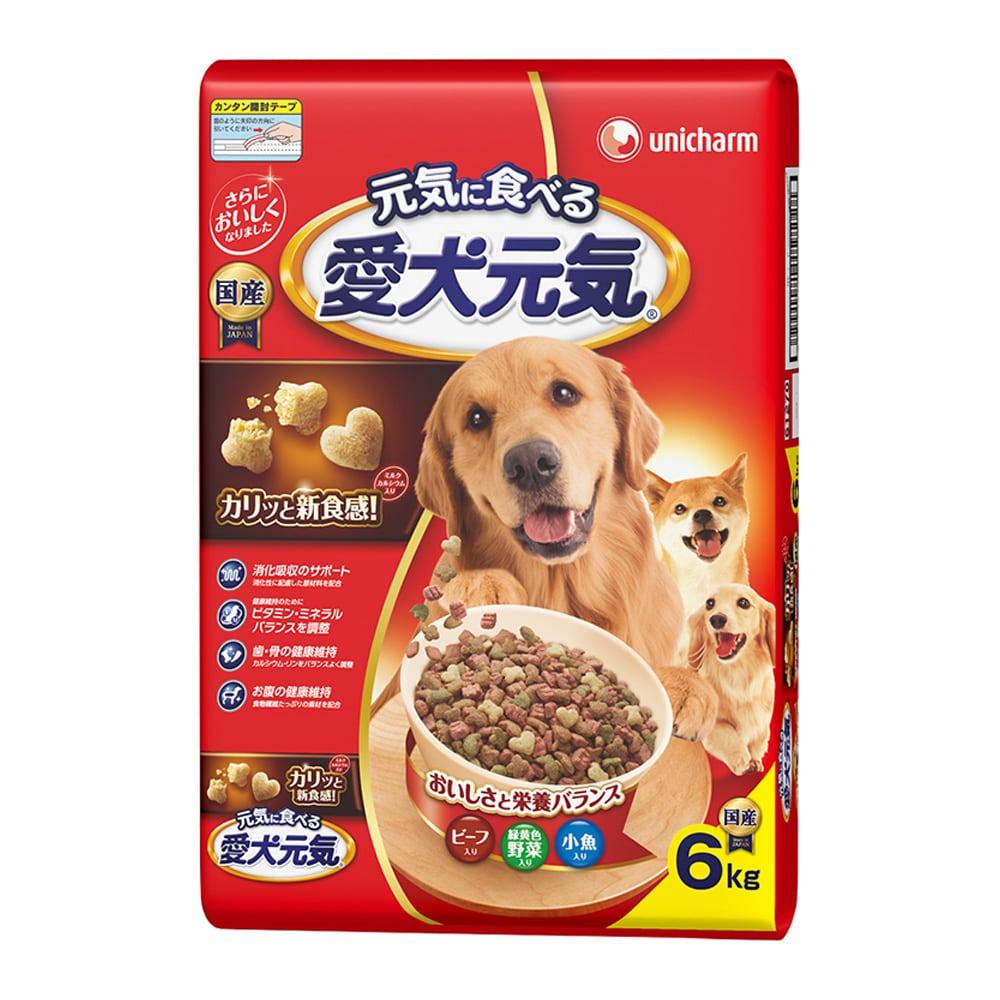 愛犬元気ビーフ野菜6.0kg