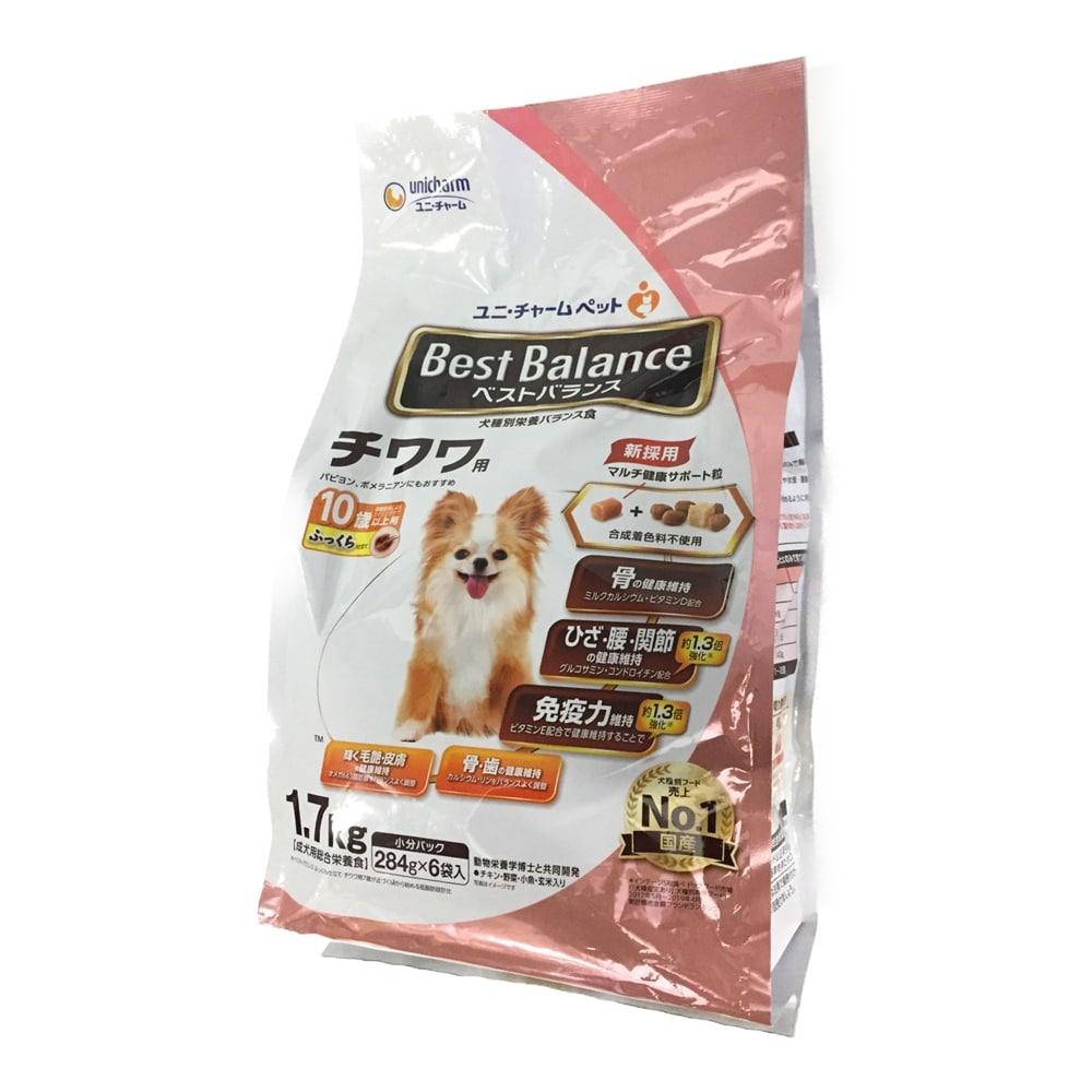 ベストバランス チワワ用 10歳以上用 ふっくら仕立て 1.7kg