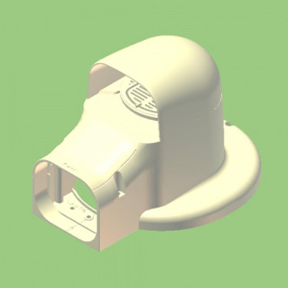 換気フランジ兼用出口カバーKF2L−70S Lタイ