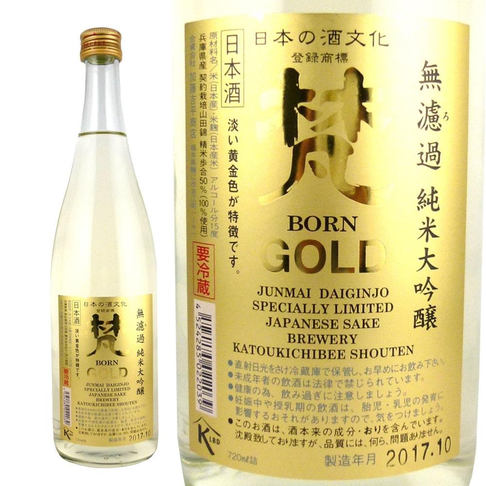 梵 ゴールド純米大吟醸 720ml