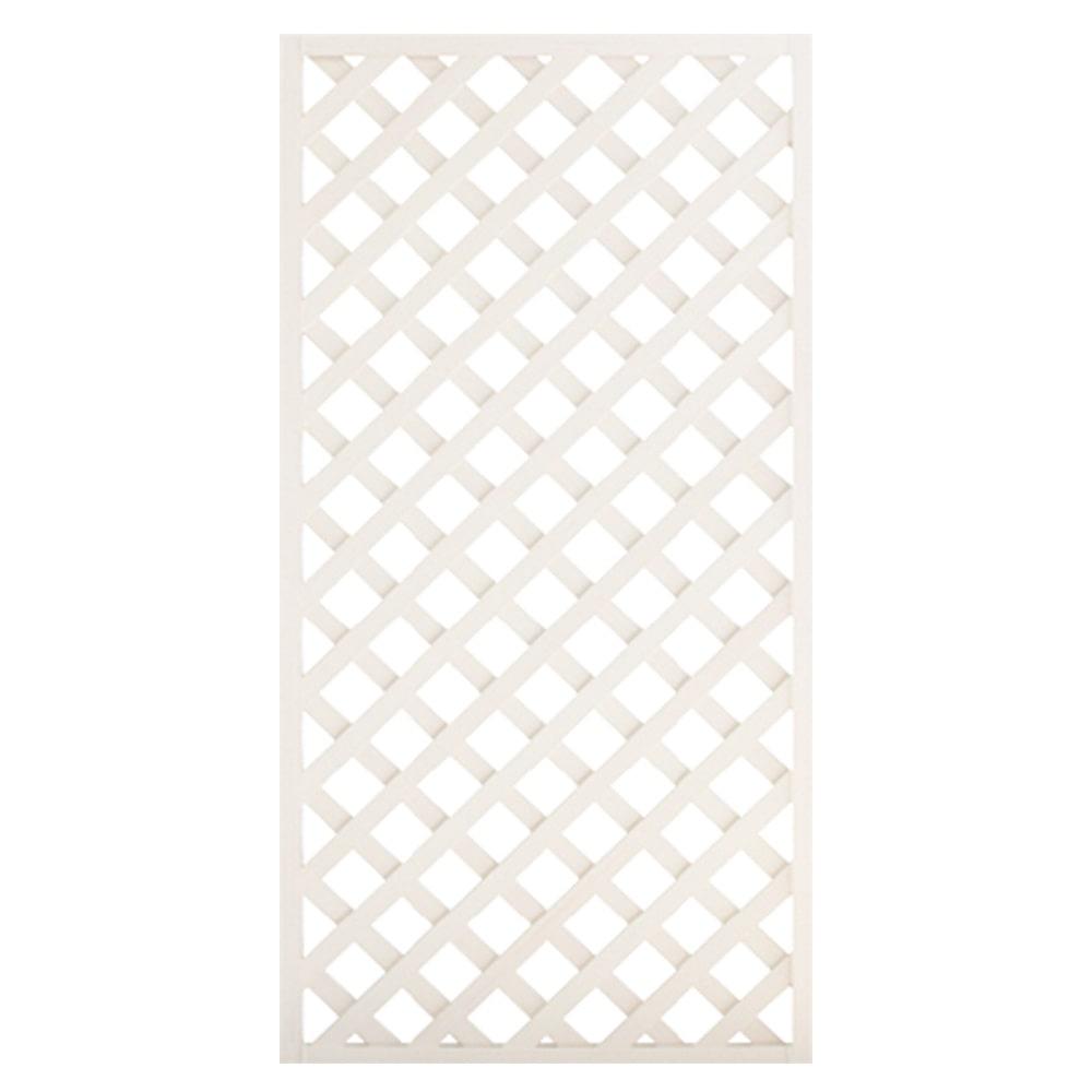 【SU】レシナ-g ラティス 1890 高さ180×幅90cm ホワイト
