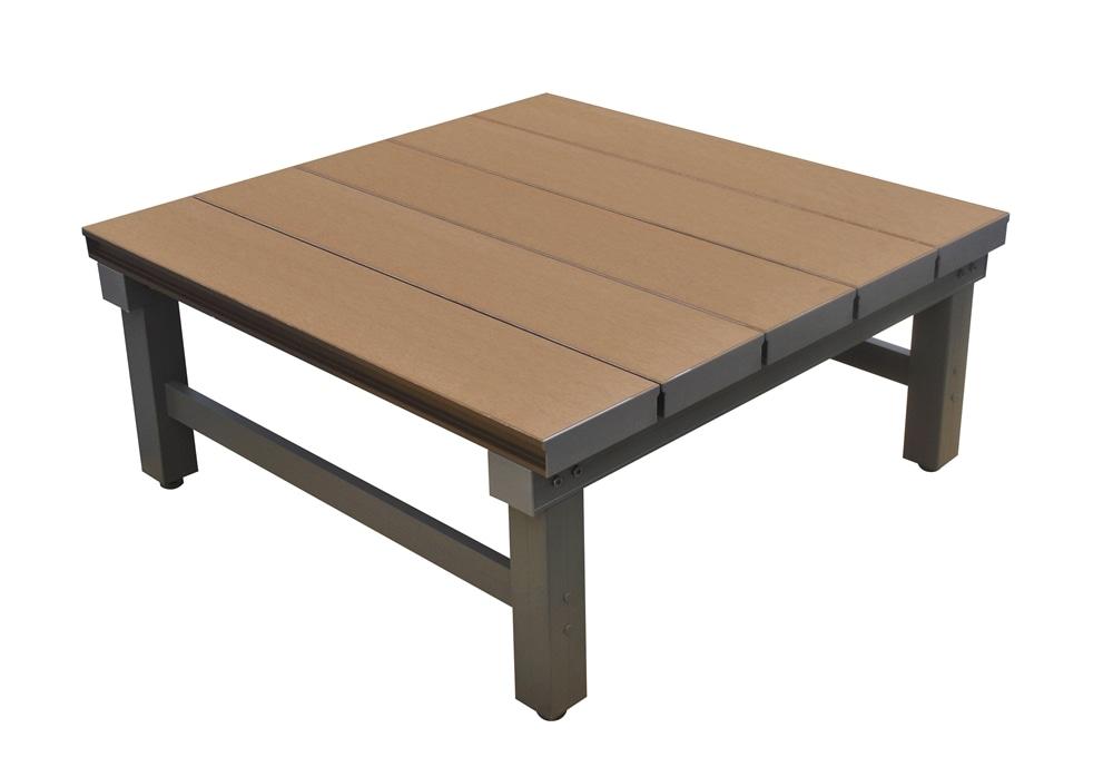 【SU】人工木アルミ連結デッキT型9090 BR