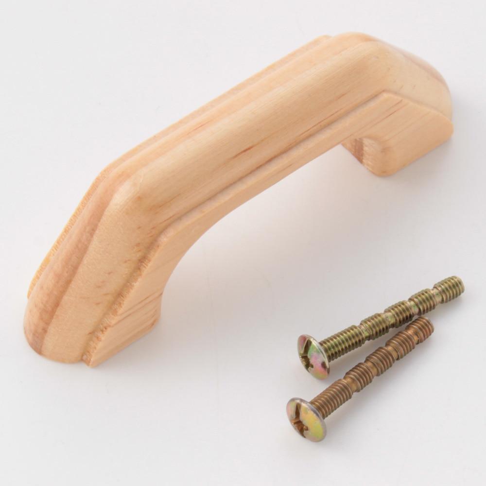 木製ハンドル パイン材 68mm KWH-68