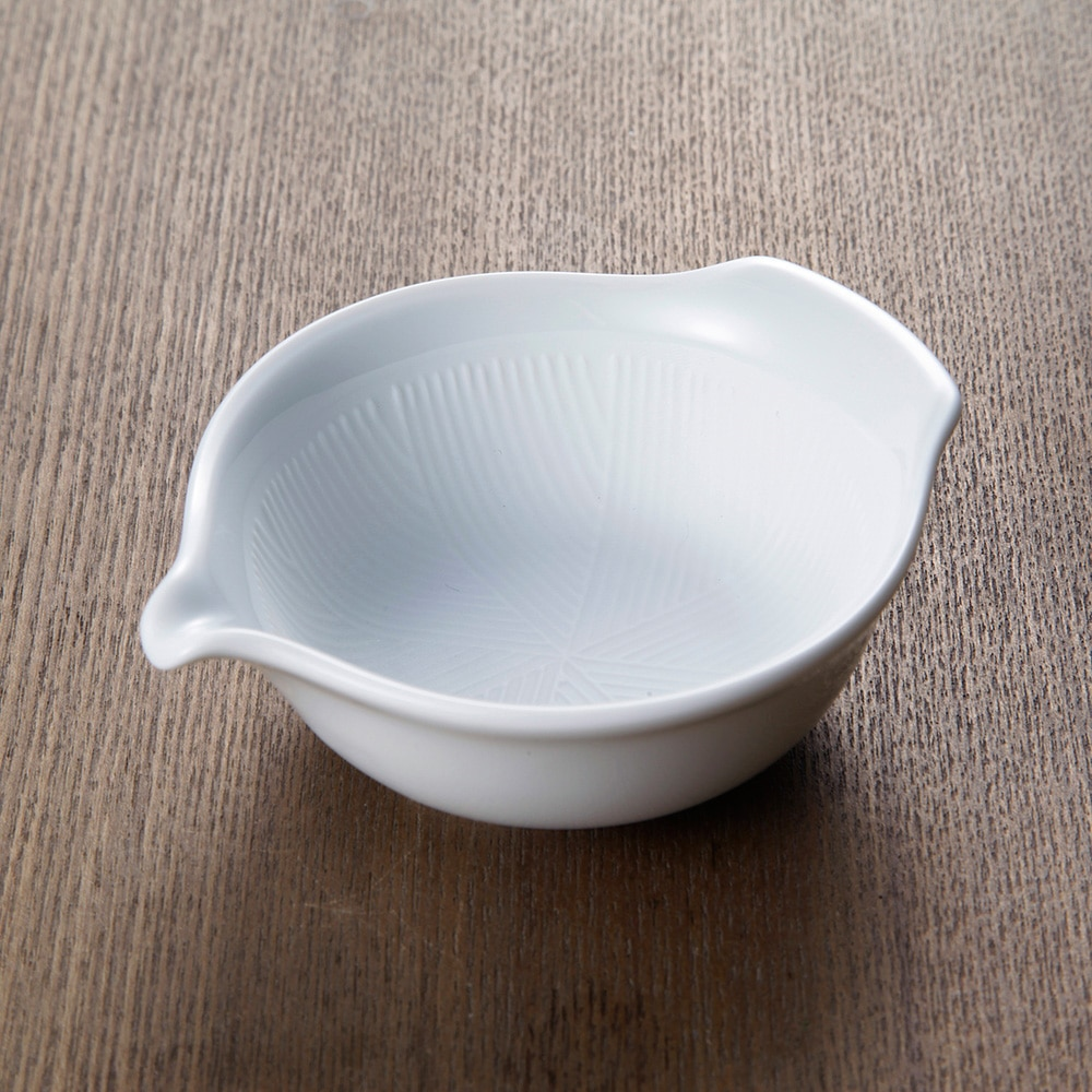 【trv】oreille[オレイユ] ごま擦り鉢 ホワイト