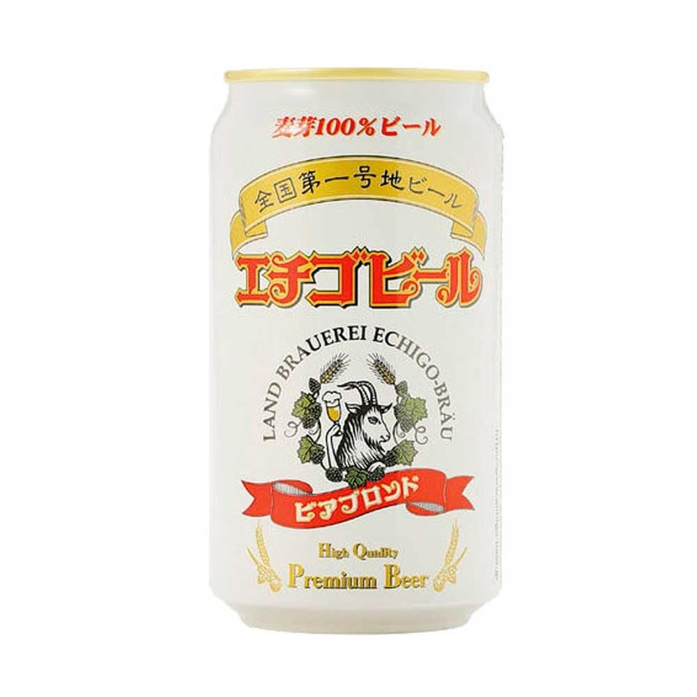 エチゴビール ビアブロンド 缶 350X24