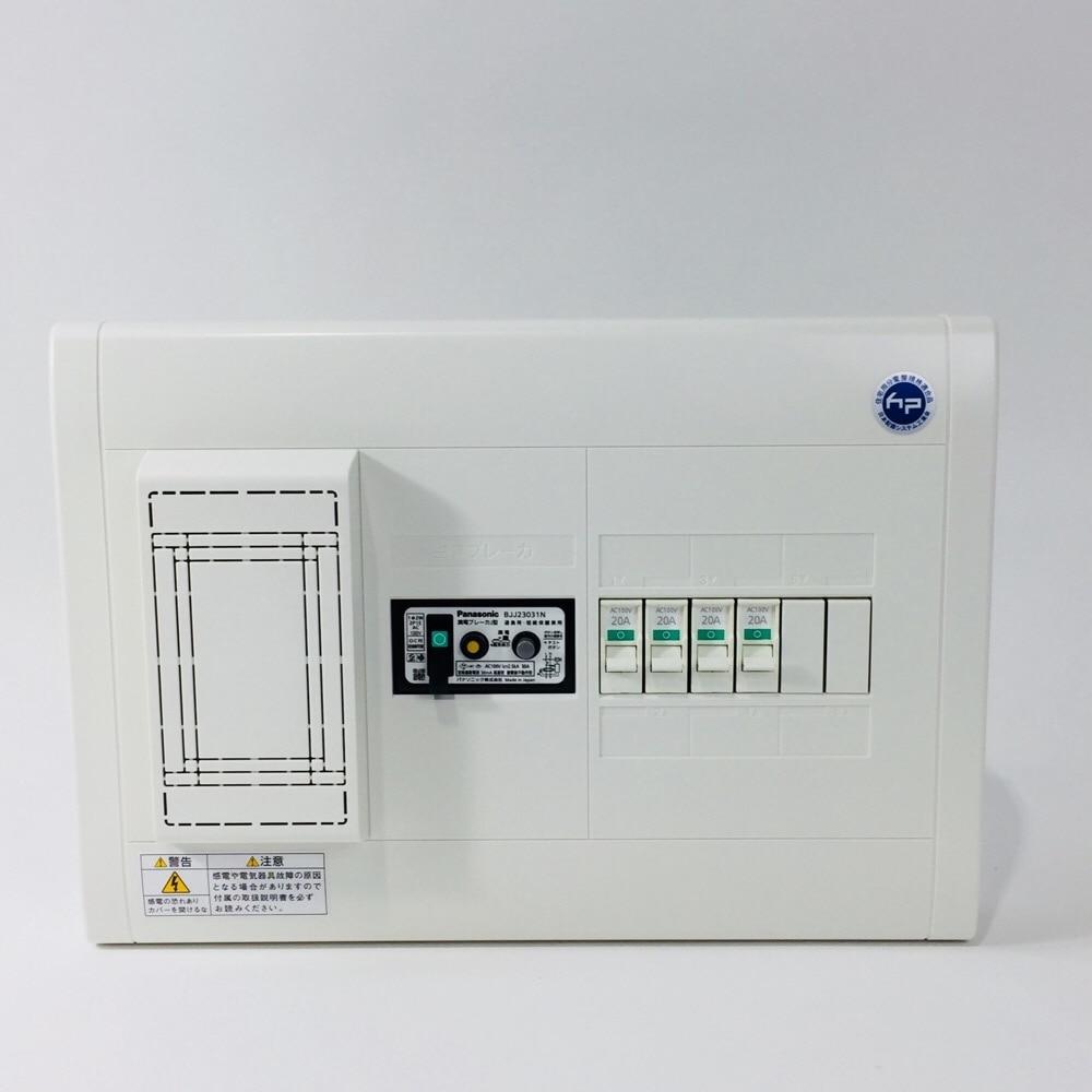 パナ 分電盤30A4+2BQWB32342 単2