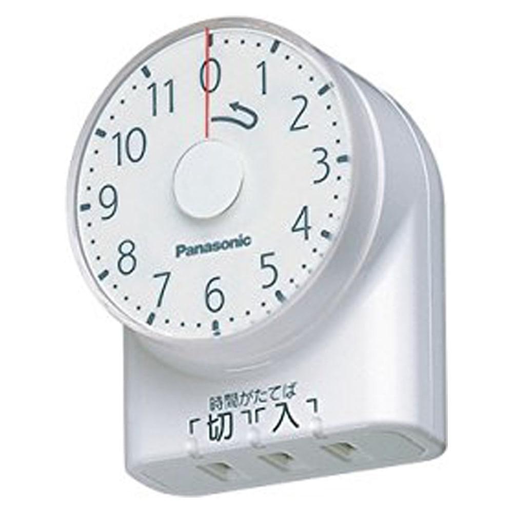 パナ タイマー11時間型WH3101WP 白