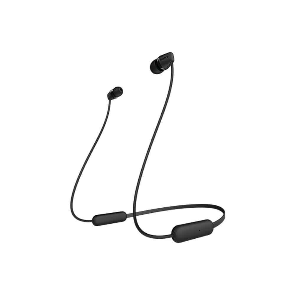 【店舗限定】ソニー ワイヤレスステレオヘッドセット WI-C200BC ブラック