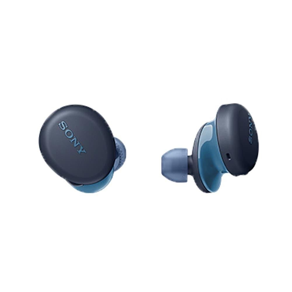 【ネット限定事前予約210609】ソニー ワイヤレスステレオヘッドセット WF-XB700-LZ ブルー