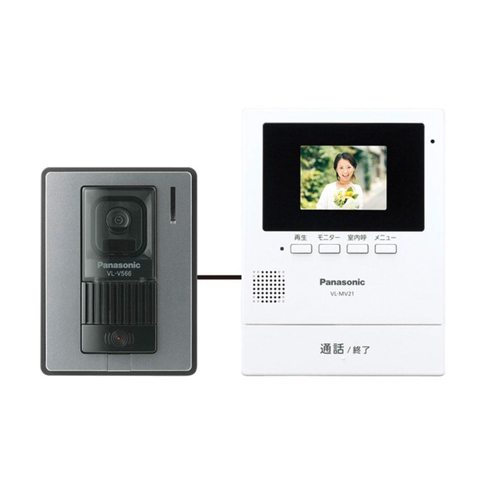 【数量限定】パナソニック 録画機能付 TVドアホン 2.7型 VL-SV21K ...