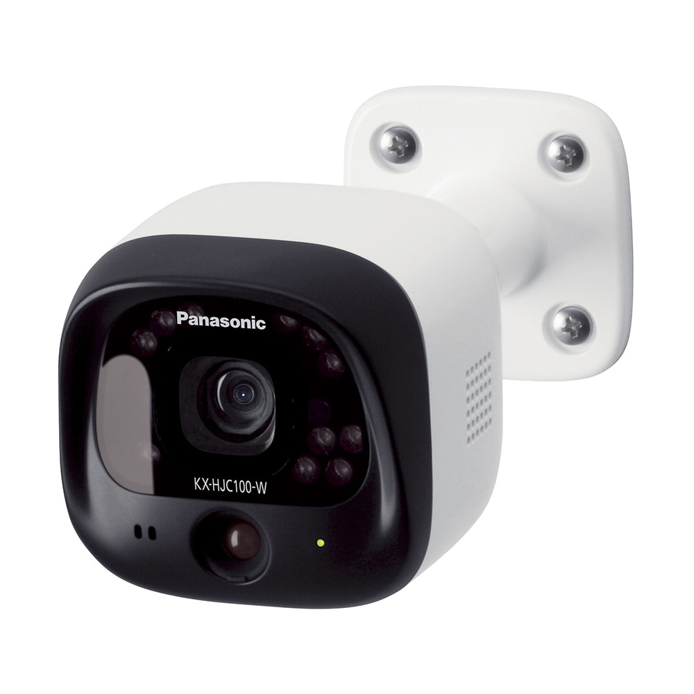 【店舗限定】パナソニック 屋外カメラ KX-HJC100-W