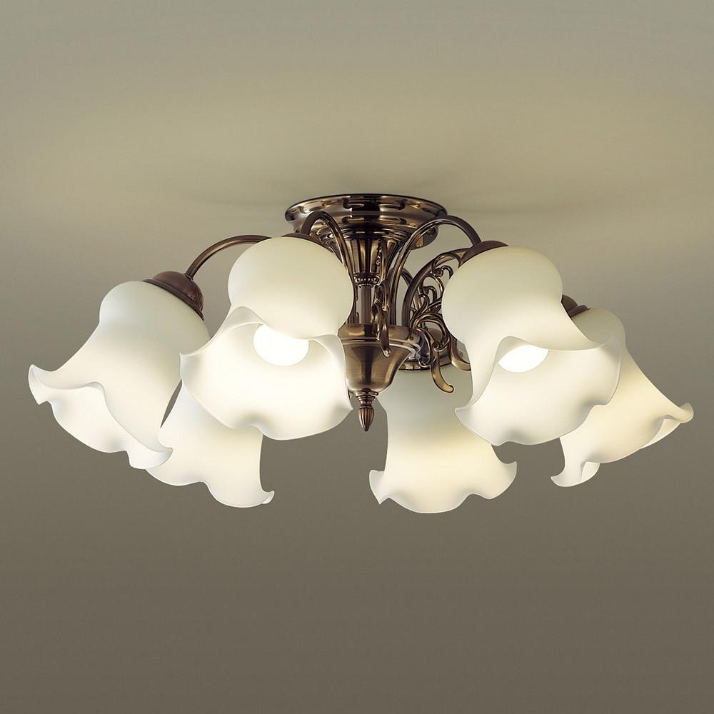 パナソニック シャンデリア50形×6電球色 LGB57614K