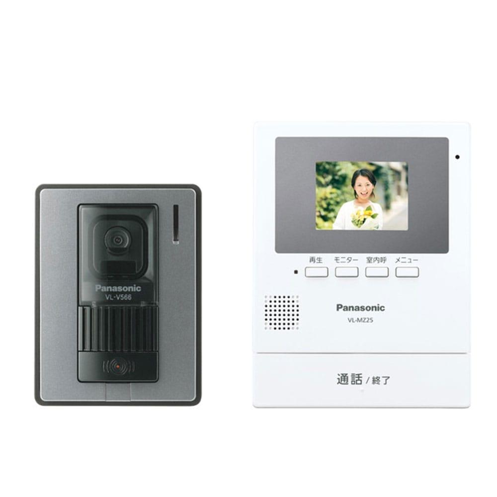 パナソニック 2.7型録画付TVドアホン VL-SZ25K