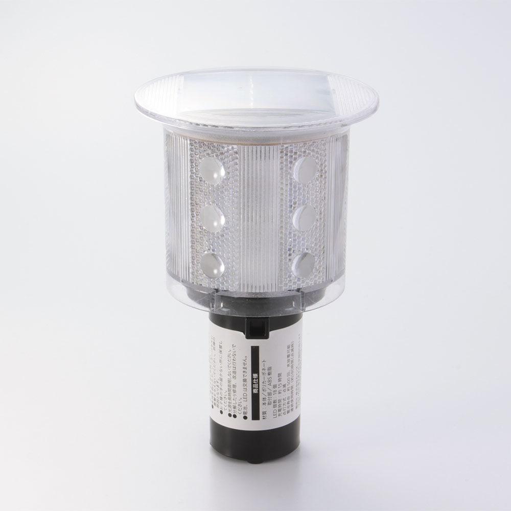 18LEDソーラー警示灯