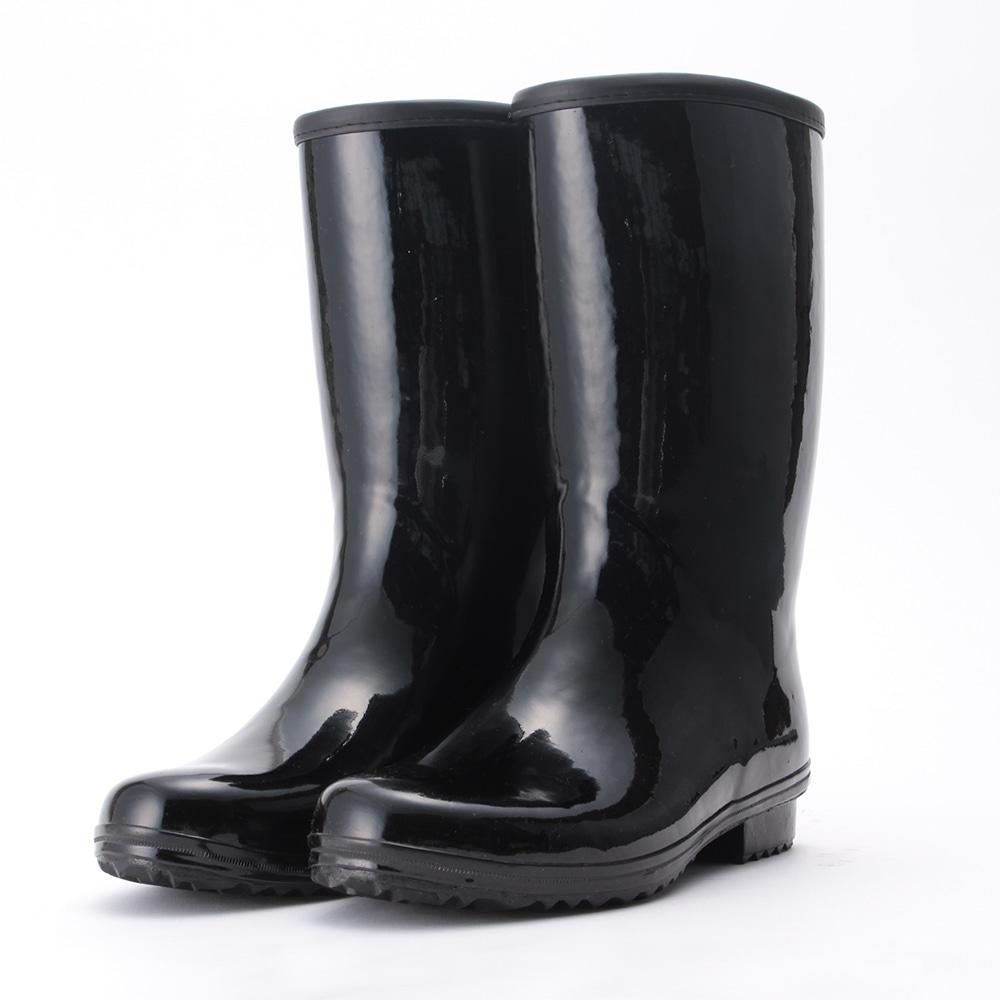 なみ底軽半長靴 25.5cm