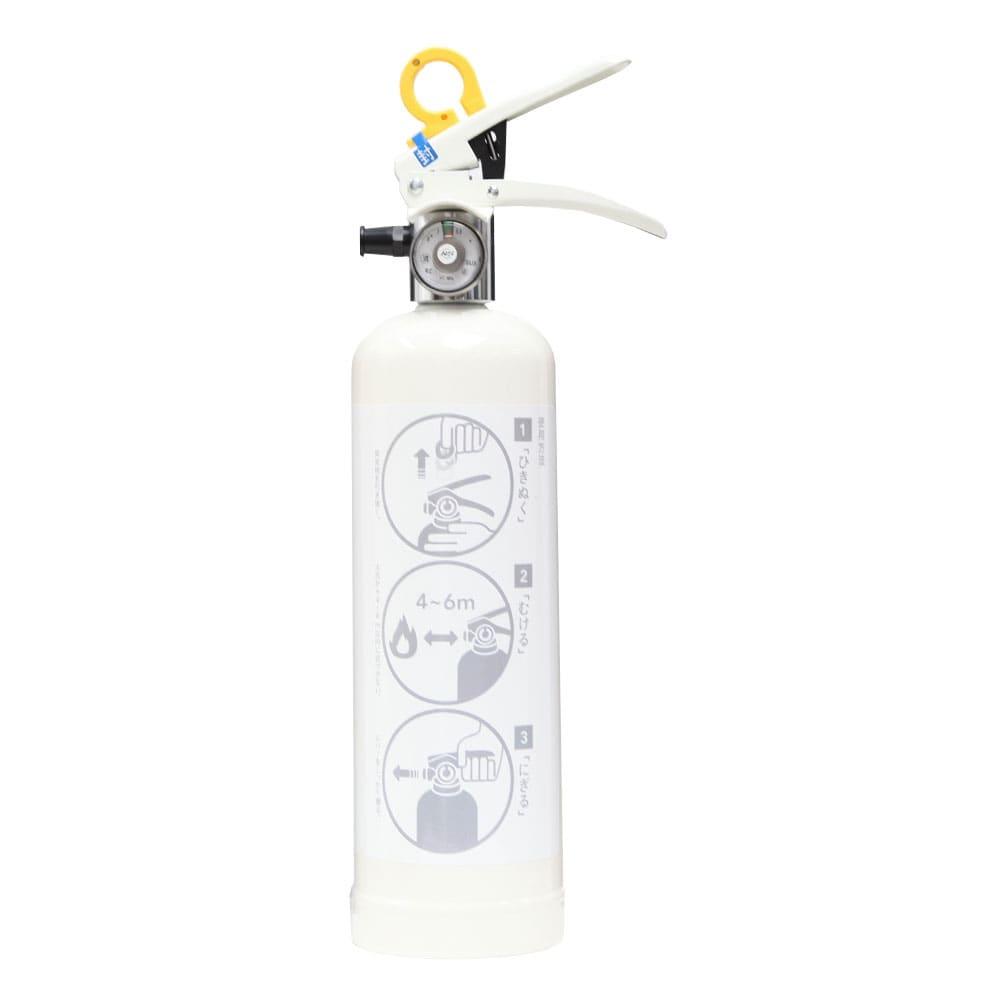 デザイン住宅用消火器 ホワイト