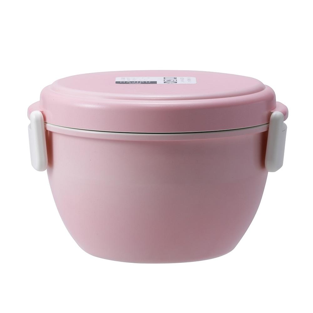 弁当箱 どんぶりランチボックス HAJIKU ピンク