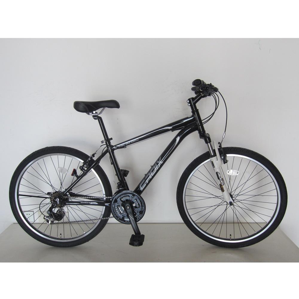 【自転車】アルミマウンテンバイク CROIX(クロア) 26インチ ブラック【別送品】