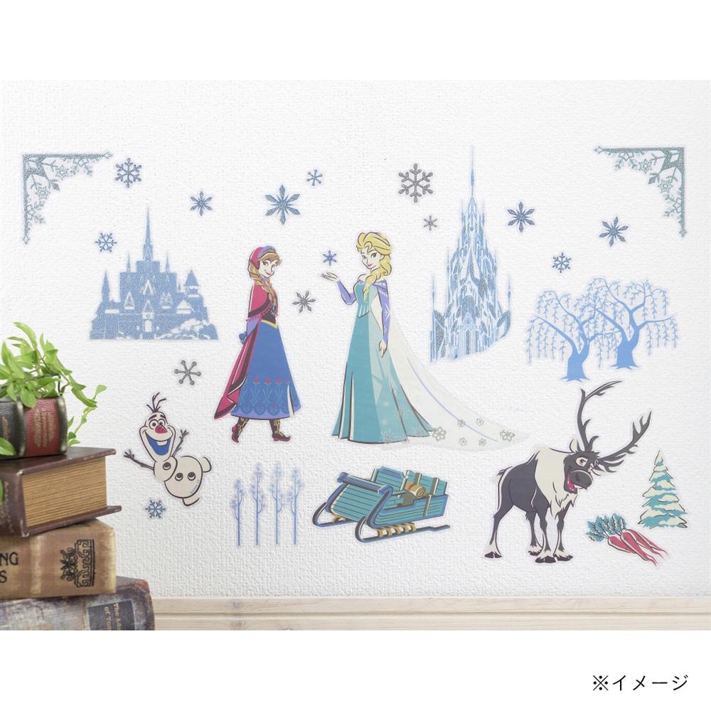 ウォールステッカー アナと雪の女王 35×50