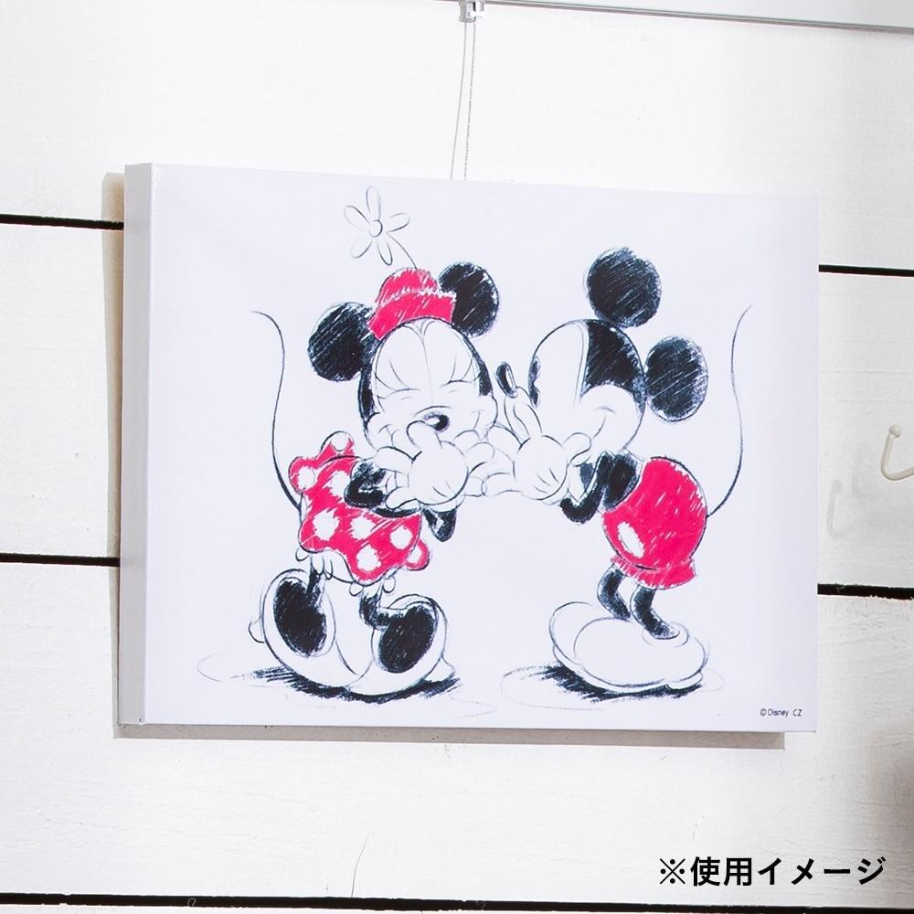 ウォールポスター ミッキー&ミニー 30×20