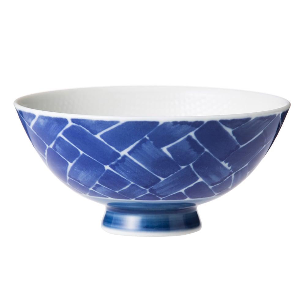 ごはんがつきにくい茶碗 中 藍