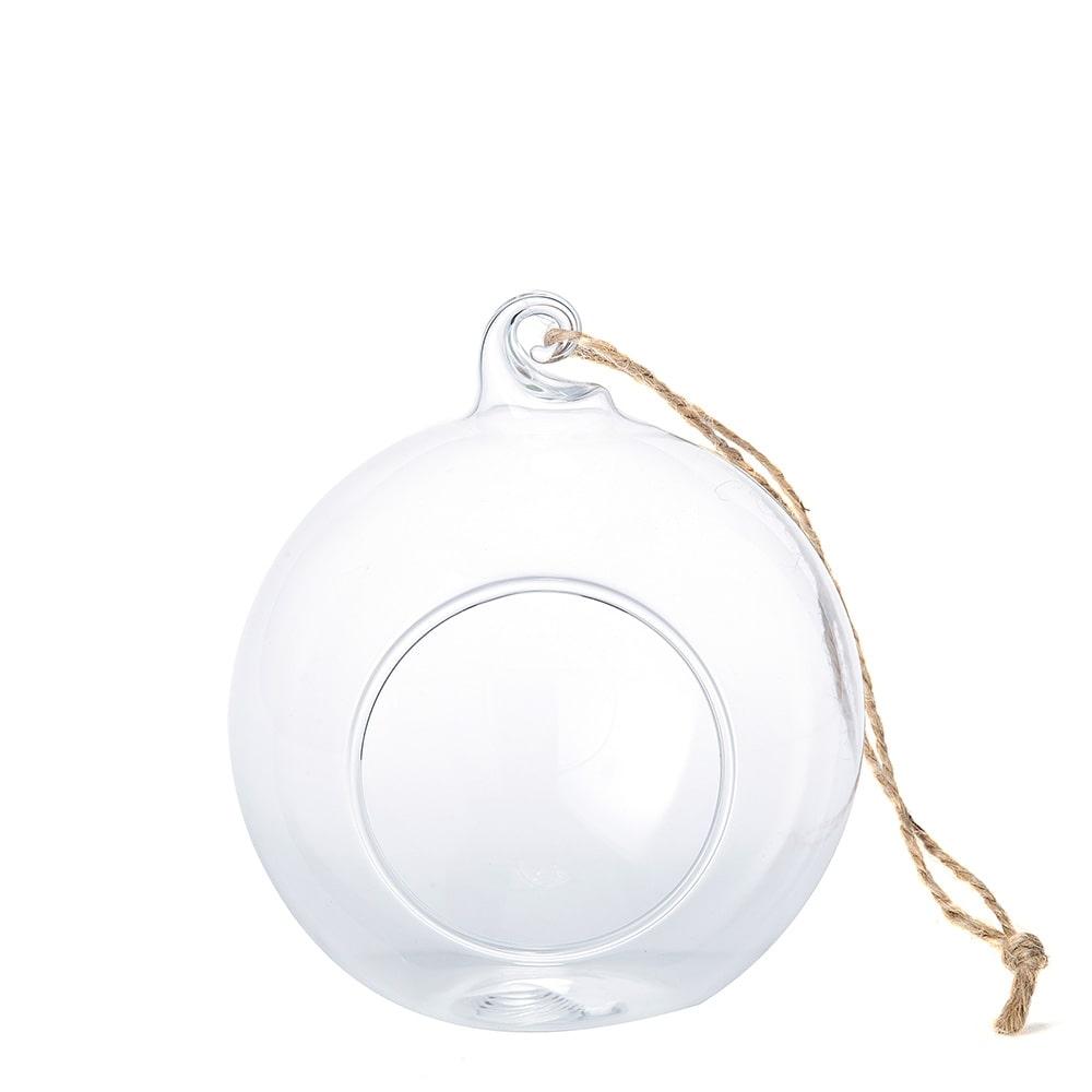 【trv】ハンギングガラスベース ボール型S