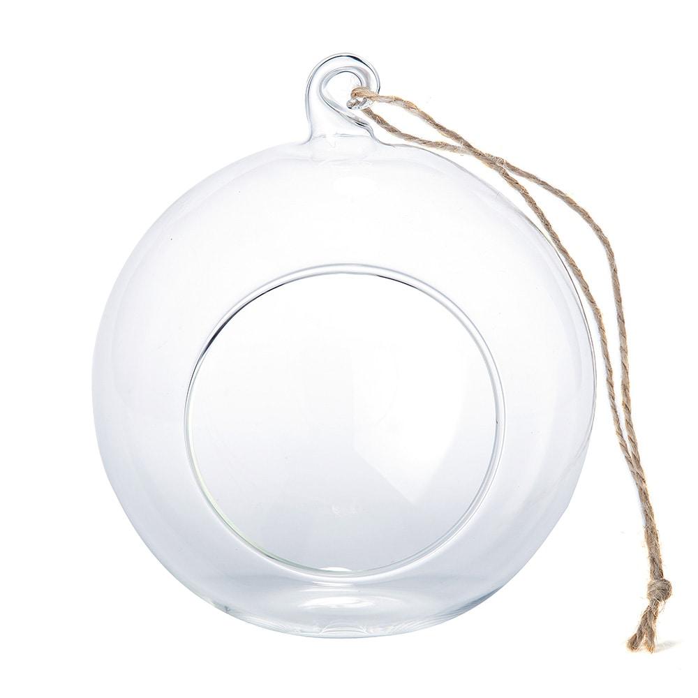 【trv】ハンギングガラスベース ボール型L