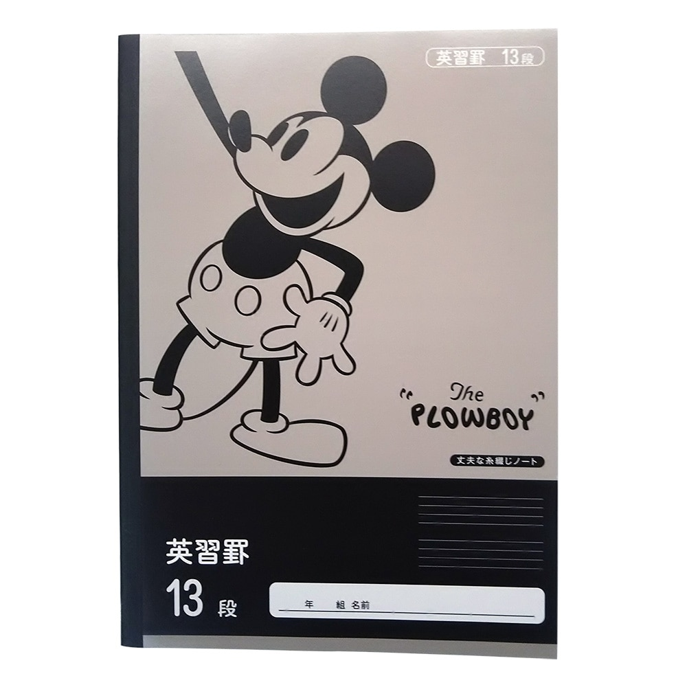 ディズニー 学習帳 英習帳 13段 NCD-EI13
