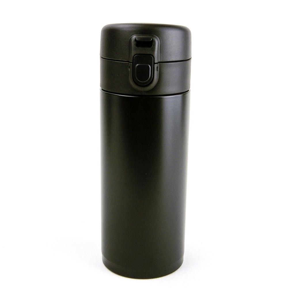 【数量限定】軽量ワンタッチマグボトル 350ml ブラック