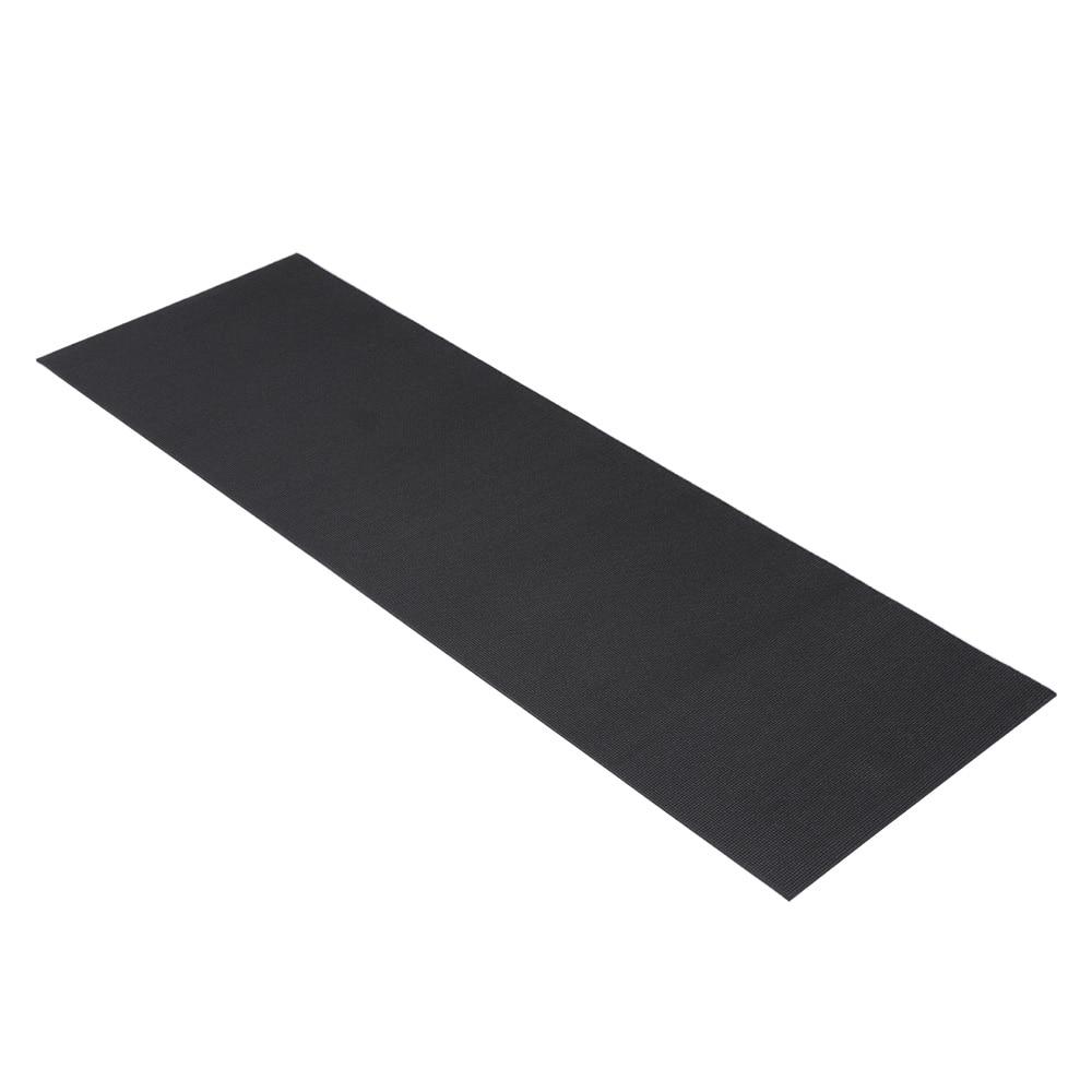 【数量限定】ヨガマット6mm ブラック PVC17561