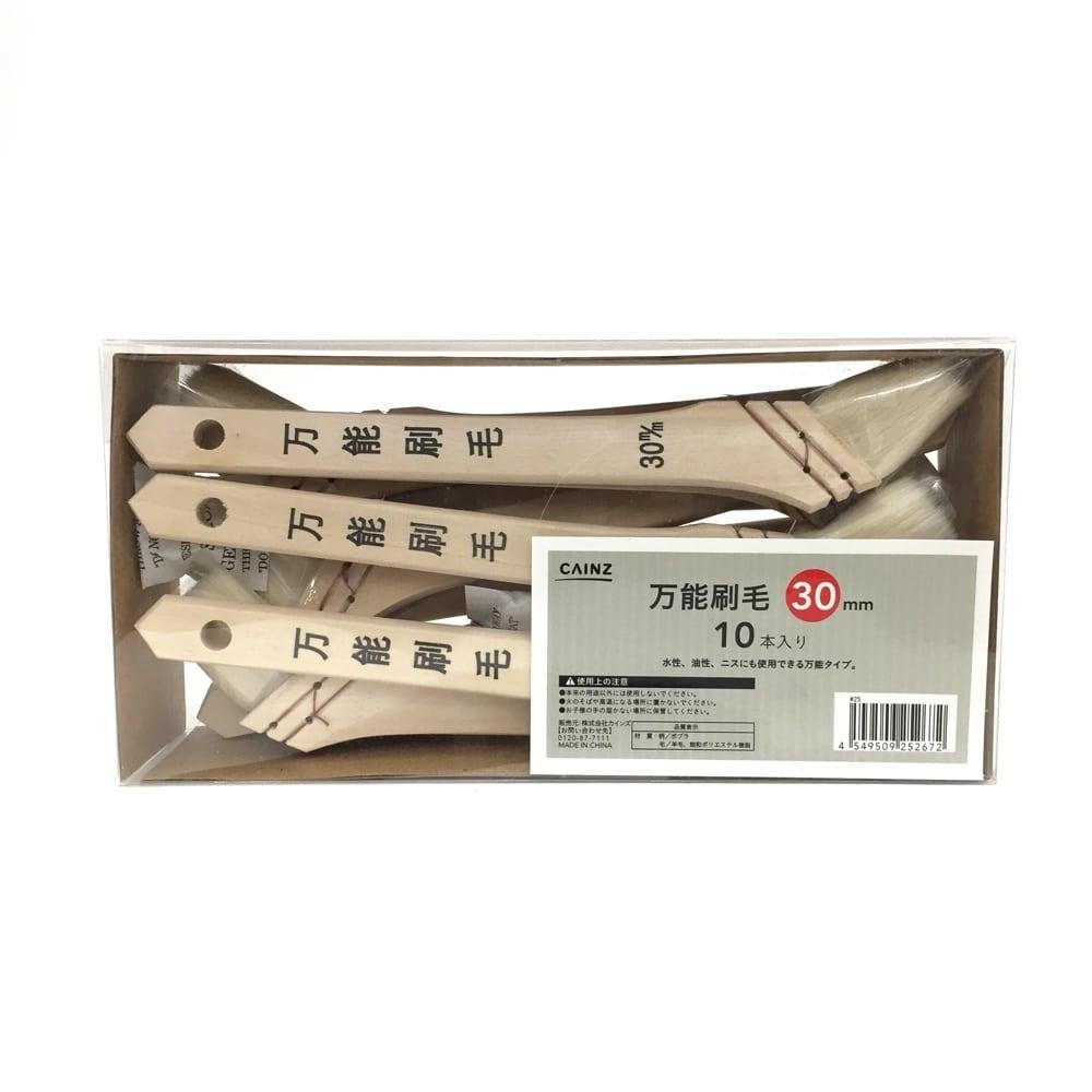 万能刷毛 ケース30mm(10本入り)