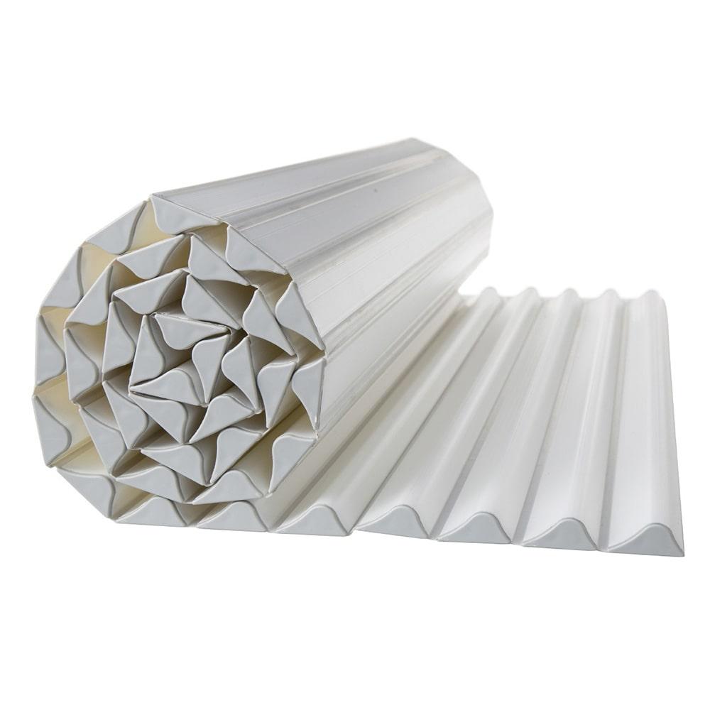 コンパクト波型風呂フタL12 ベージュ 75×120cm