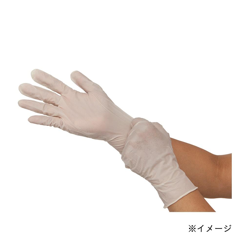 天然ゴム手袋 100枚パウダフリー M