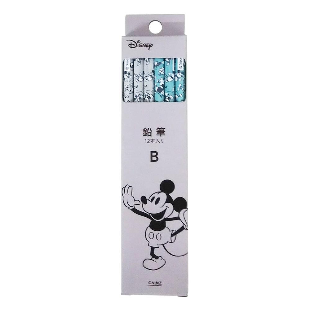 ディズニー鉛筆b ミッキー ダンス ダース: 文房具・事務用品