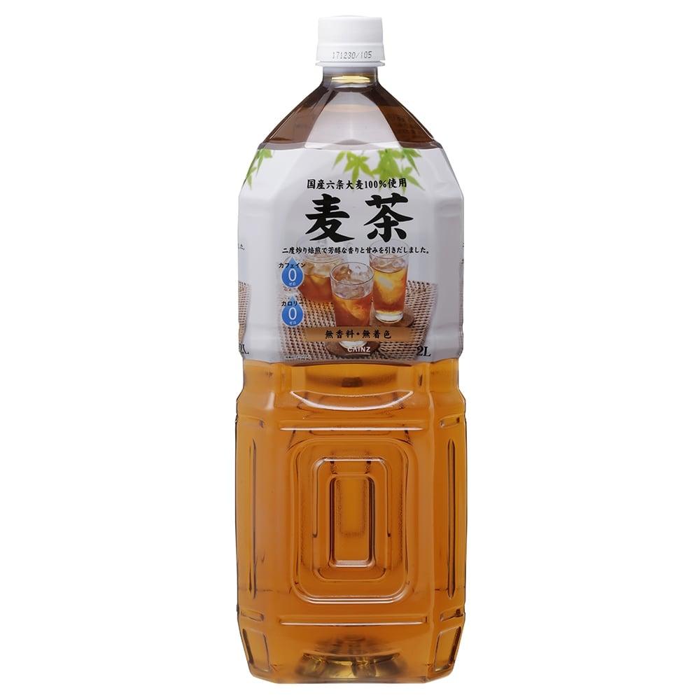 【ケース販売】麦茶 2L×6本