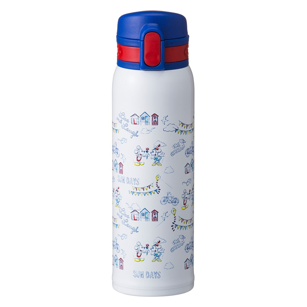 超軽量ワンタッチマグボトル 480ml ミッキー&ミニー SUNDAYS