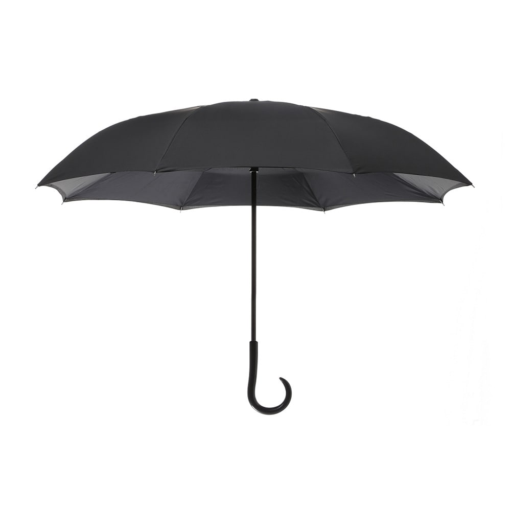 逆さ傘 60cm ブラック/ブラック