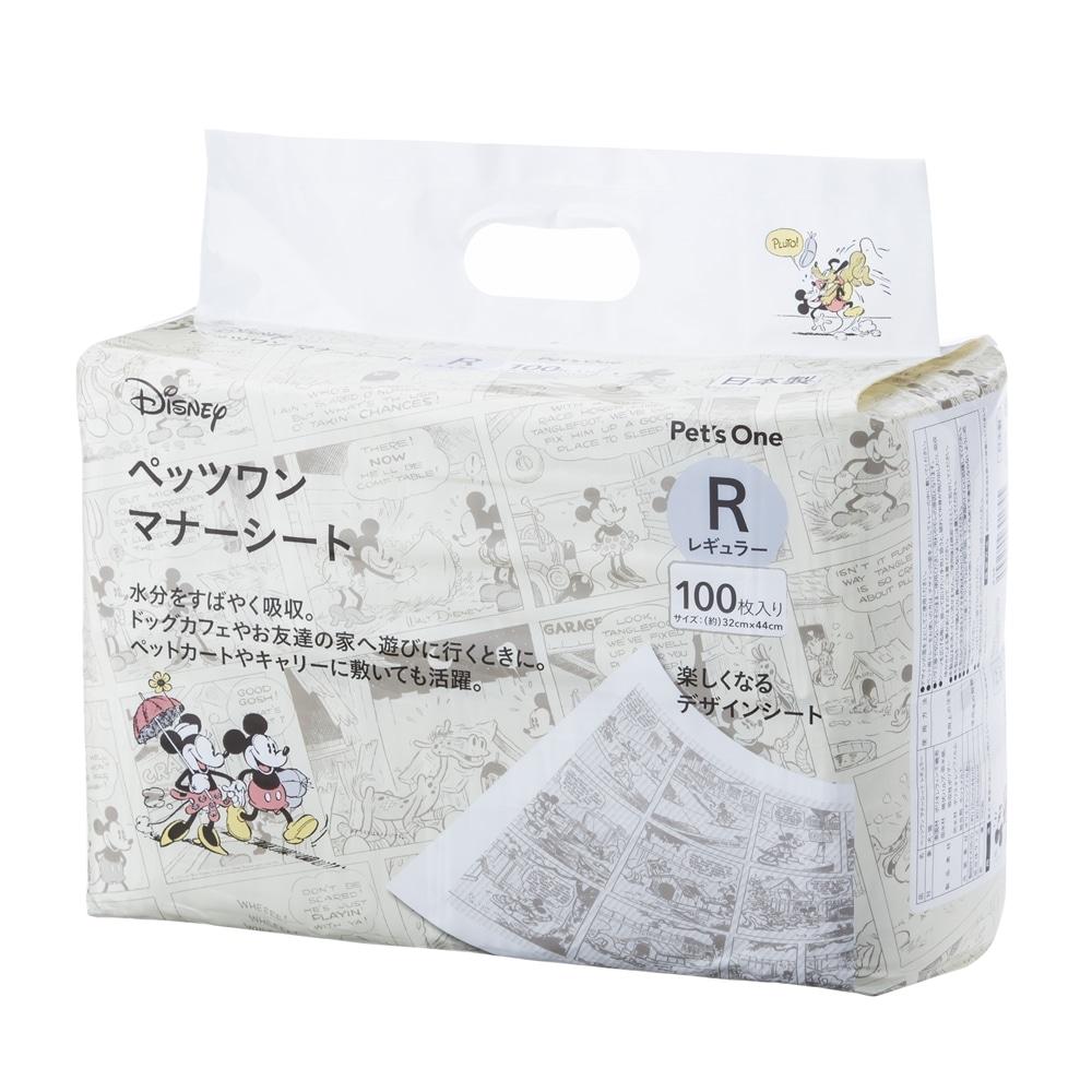 Pet'sOne マナーシート ディズニー デザイン レギュラー 100枚入り(1枚あたり 約10.0円)