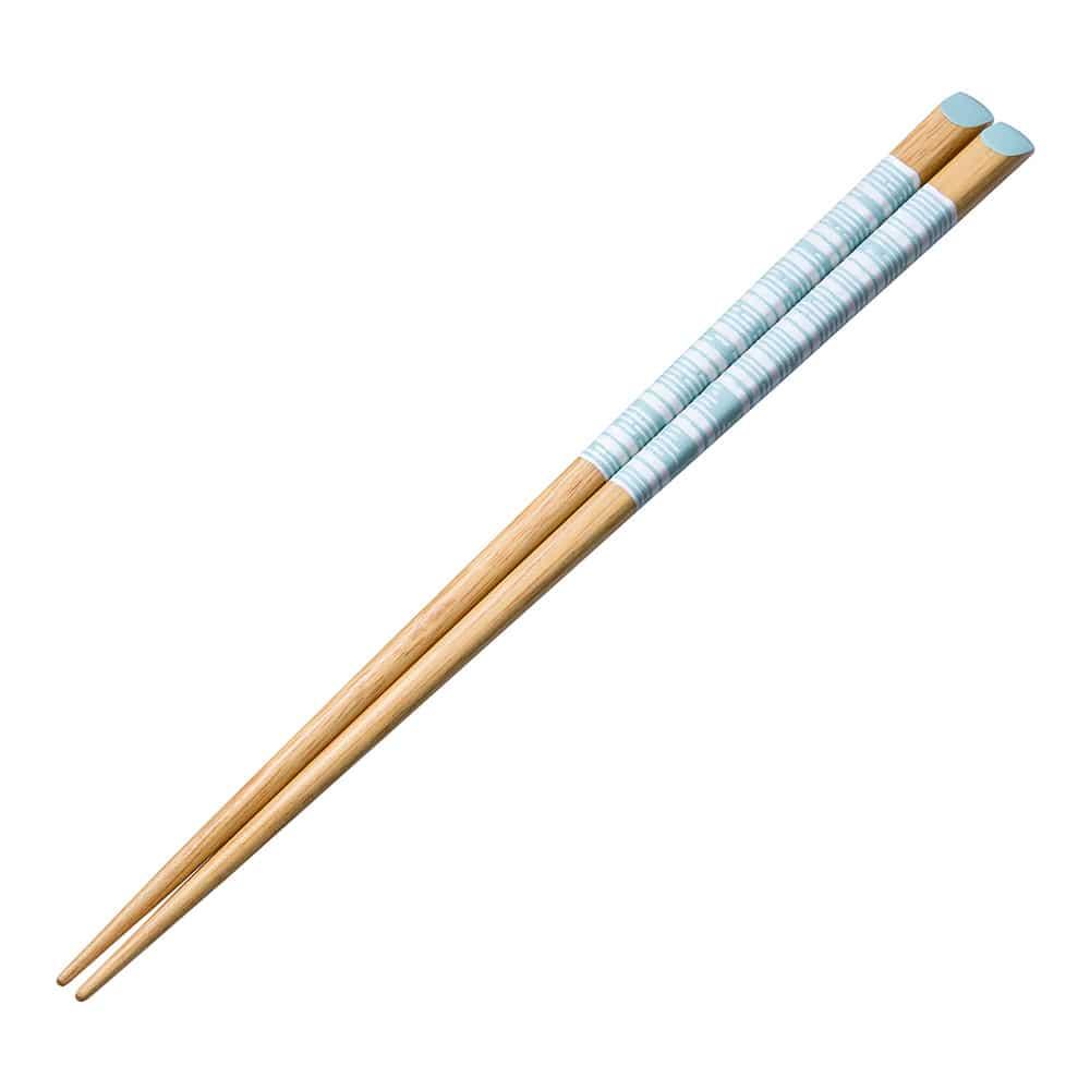 天削塗箸 ibuki 23.0cm ブルー