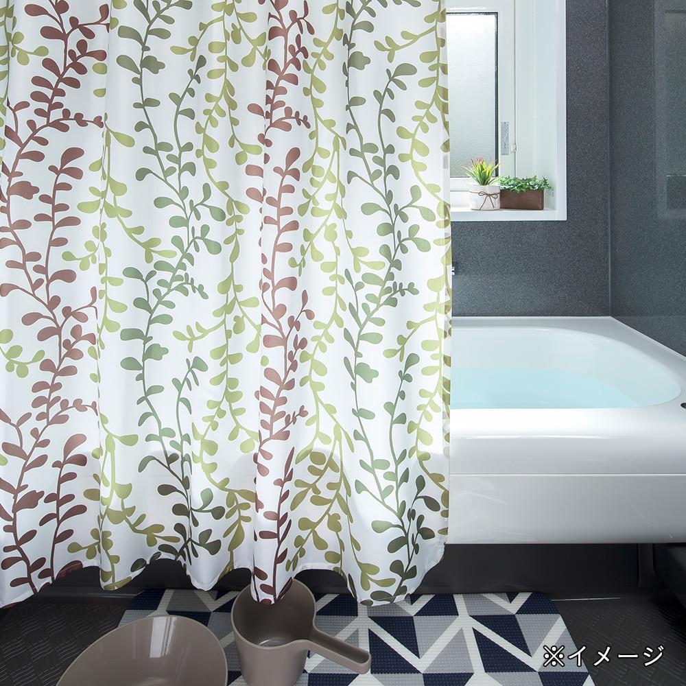 シャワーカーテン 1315 ワイヤープランツ
