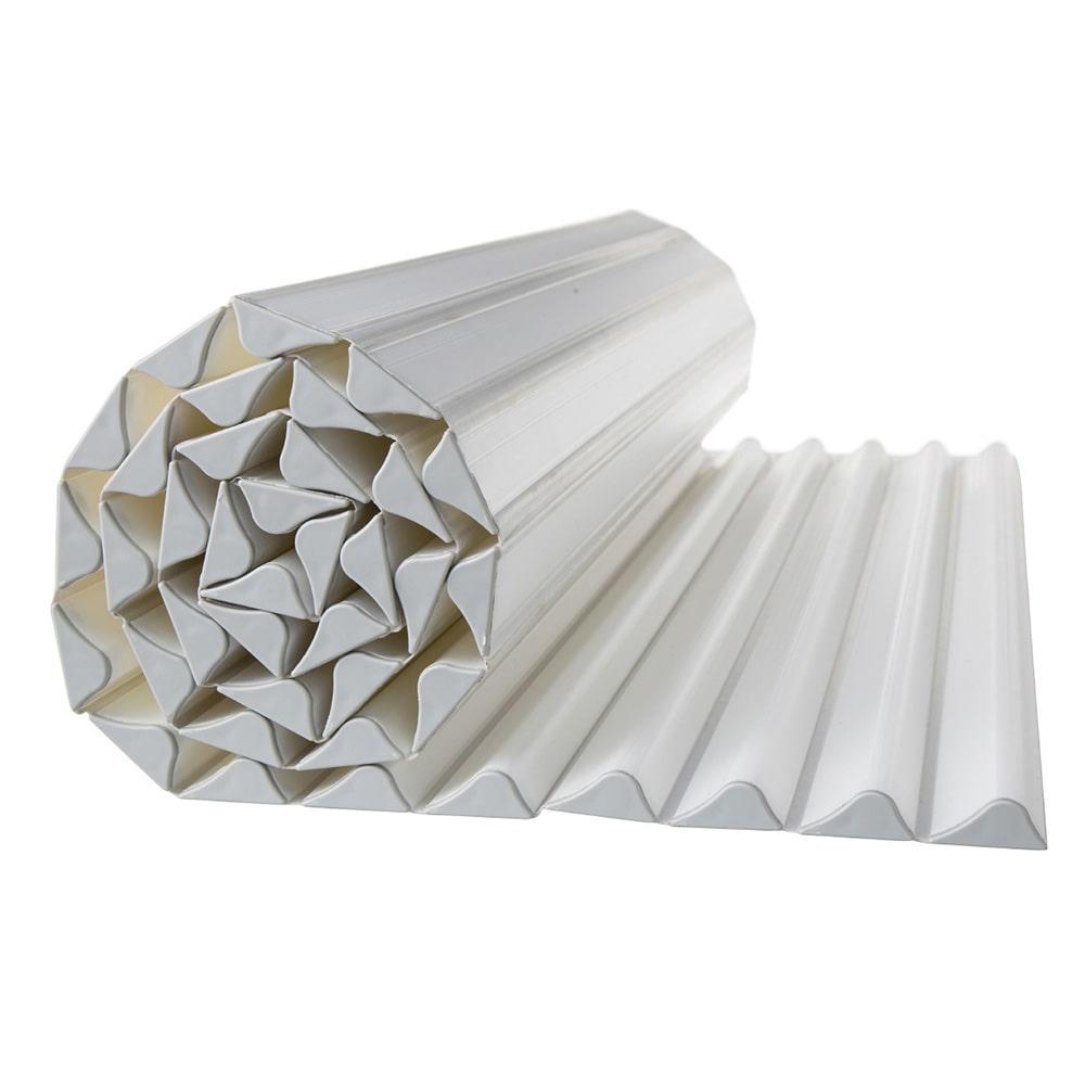 コンパクト波型風呂フタL15 ベージュ 75×150cm