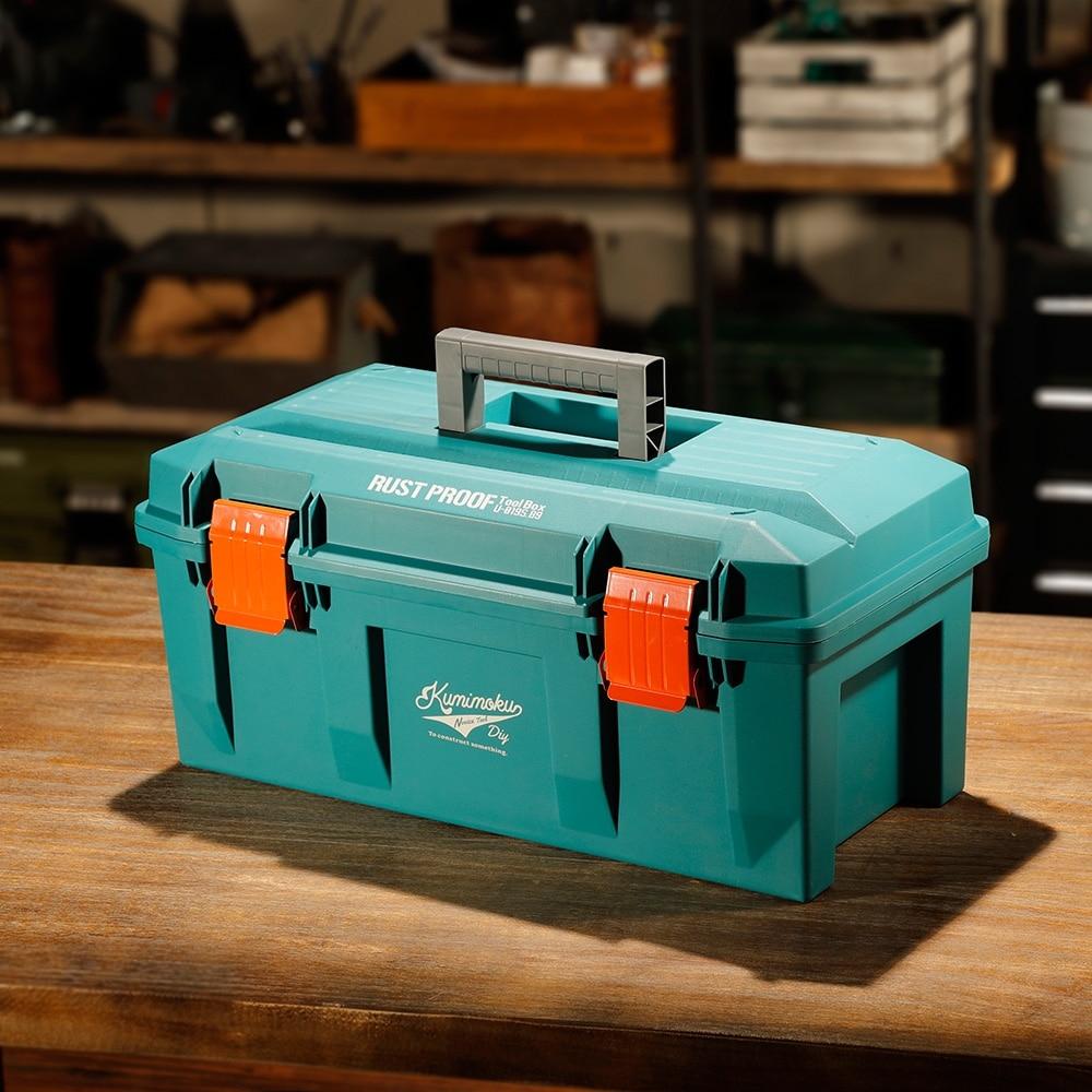 Kumimoku 道具が錆びにくい工具箱 ブルー