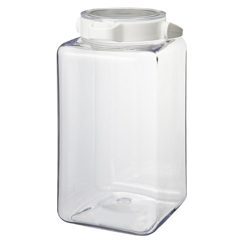 ワンプッシュで開閉できる保存容器 2.8L