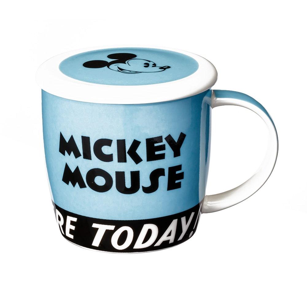 フタ付きマグカップ ミッキー