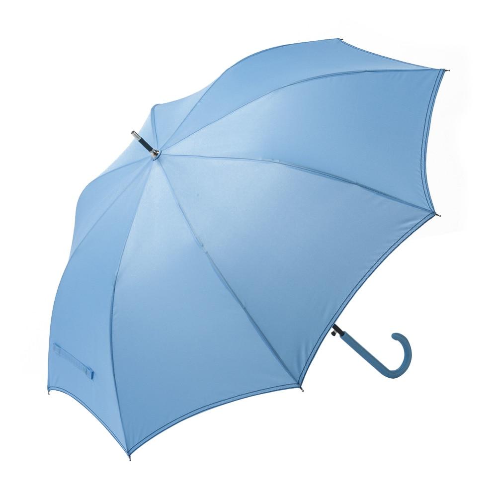 折れにくいジャンプ傘 60cm ライトブルー