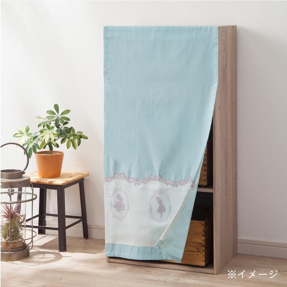 ボックス用カーテン 不思議の国のアリス ブルー