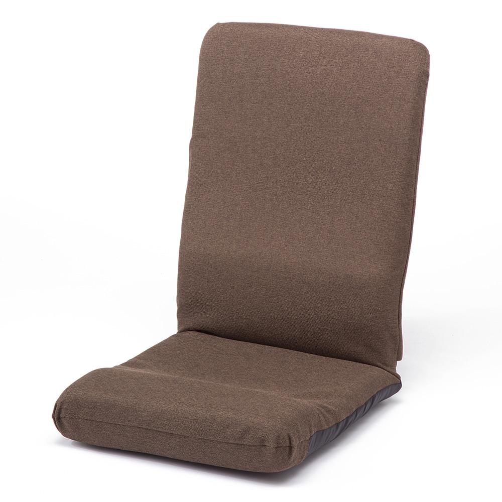 B4 ハイバック座椅子 ブラウン