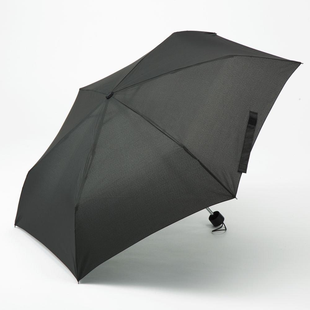 撥水折りたたみ傘 60cm ブラック